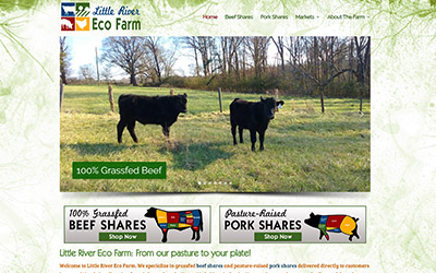 New Website: Little River Eco Farm