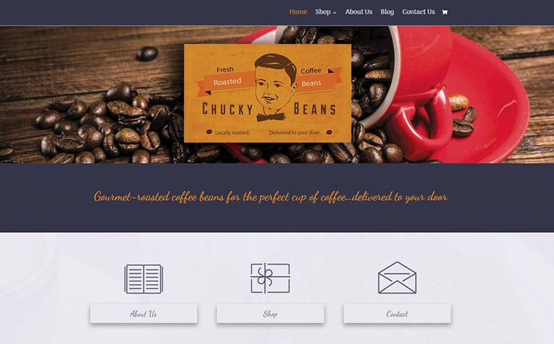 New site: Gourmet Roasted Coffee Beans