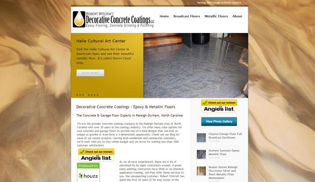 Web Designer Cary NC