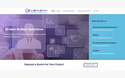 New Site: Broker Builder Solutions