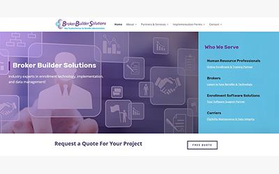 New Site: Broker Builder Solutions